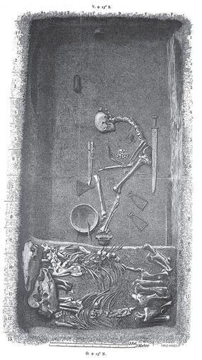 viking, grave