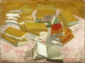 Vincent van Gogh's Study for 'Romans Parisiens' is an oil on canvas (20-3/4x28-3/4 inches) that is housed in the Van Gogh Museum in Amsterdam.