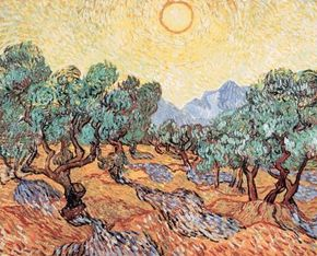 The Olive Trees by Vincent van Gogh, is housed in the Minneapolis Institute of Arts.