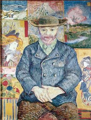 Vincent van Gogh's Le Père Tanguy is an oil on canvas (36-1/4 x 29-1/2 inches) that is housed in the Musée Rodin in Paris.