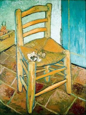 Van Gogh's Chair inches) the National Gallery, London.