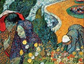 A Memory of the Garden at Etten 29x36-1/2 inches) is housed at the Hermitage in Leningrad.