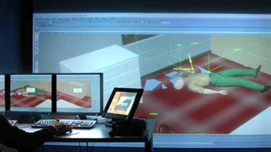 How Virtual Crime Scenes Work