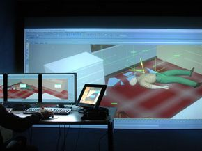 A forensics laboratory here is using a sophisticated computer system to reproduce crime scenes, recreating everything from the path of a bullet to the movement of a corpse with startling realism.