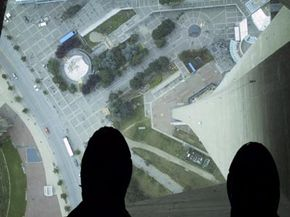 Virtually Better may create an environment such as this to help patients overcome their fear of heights.