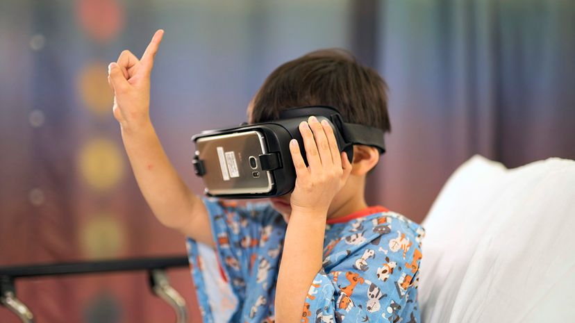 Kids at Lucile Packard Children's Hospital in Palo Alto, California are using virtual reality to get some reprieve from painful medical procedures. Stanford CHARIOT