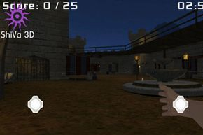 In the game Nicot 1.0, available for download online, players use a virtual arm to crush cigarettes inside a castle.
