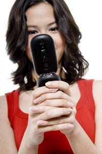 Many cell phone providers include voice mail as part of a service plan.