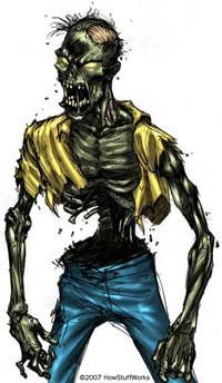 Although prevalent in Haitian lore, zombies are not typically part of voodoo practice.