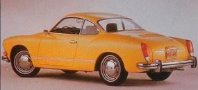 The 1972 Karmann-Ghias got heftier bumpers and gained larger taillights. This was the last styling change before the car was discontinued in 1974.