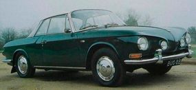 In the spirit of the Karmann-Ghia, Ghia built 42,500 Type 34 coupes using