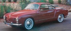 Mystery blankets the origins of Karmann-Ghia styling. Compare this 1958 Karmann-Ghia with the Chrysler concept car pictured below.