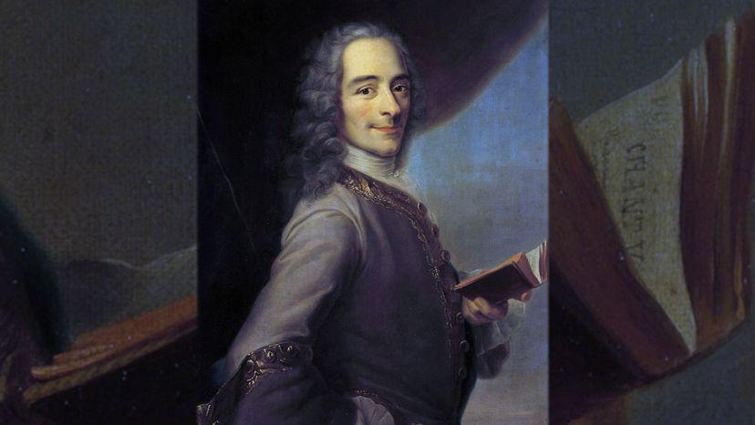 Francois Marie Arouet, aka Voltaire painter