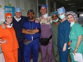 Medical workers -- like these Operation Smile medical volunteers on a mission at Cairo Hospital in Cairo, Egypt -- aren't the only people who can volunteer abroad.