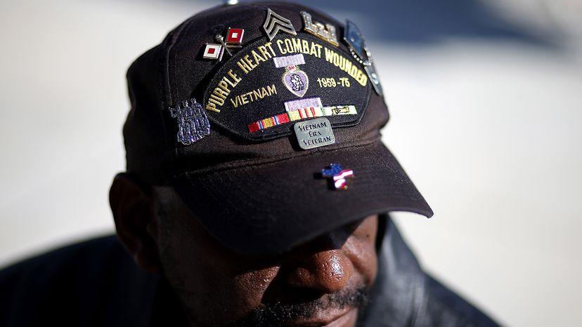 Disabled U.S. veteran