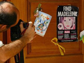 Posters like the one pictured here are just one of the tools used to search for the 2,300 Americans that are reported missing each day.