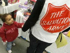 From 2006 to 2007, the Salvation Army assisted almost 29,000,000 people at roughly 7,600 service centers.