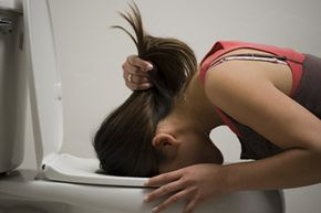If you begin to throw up bile, check with your physician to see if it is a sign of something serious.