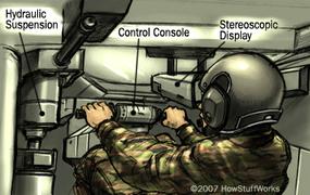 Virtual reality tank simulator