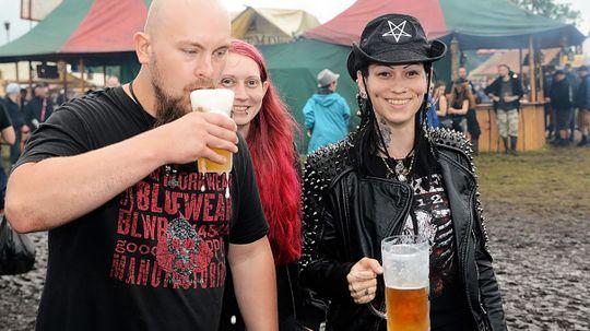 Heavy Metal Berserkers Install Beer Pipeline to Supply Music Festival