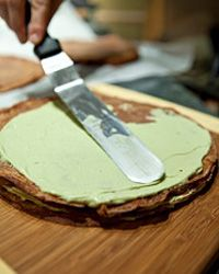 Yes, even professional chefs have shortcuts. This delicious pastry may be on its way to a restaurant across town.