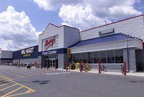 Wal-Mart Supercenter. See more corporation pictures.