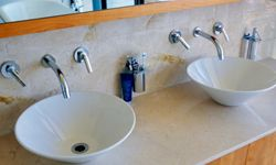 Put your faucets away and give yourself some more room.
