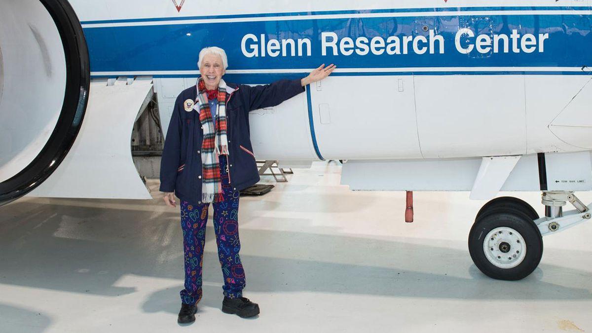 60年後、82歳のウォーリーファンクがついに宇宙に行く