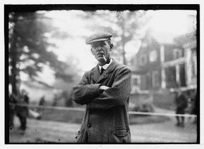 """Walter Travis was nicknamed the """"Old Man"""" after taking up golf in his 30s; he was dubbed the """"Grand Old Man"""" in his later years. See more pictures of famous golfers."""