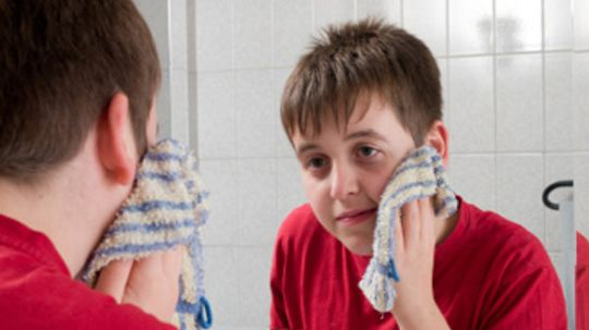 Is a washcloth a bad idea for cleansing your face?