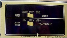 Speed and temperature control switches