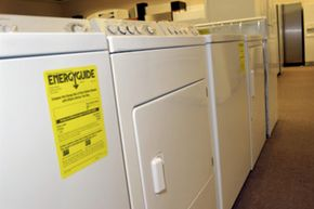 Look for the EnergyGuide label to learn about your machine's energy usage.