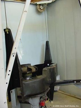 Cable-and-pulley support system
