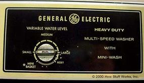 Water level control switch