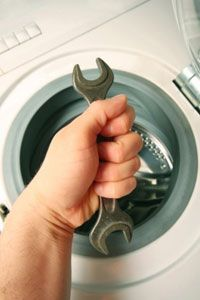 Washing machines: Some disassembly required.
