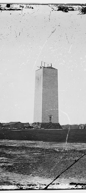 unfinished washington monument