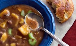 As the weather gets cooler, warm yourself up with these hearty meals. See more pictures of comfort foods.