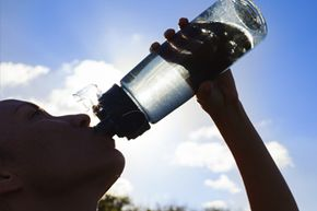Most of your body's major systems depend on water to function, so drink up!