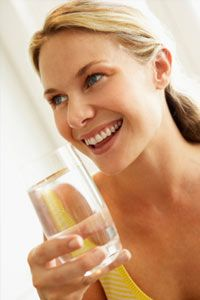 Hydration helps the body clear out waste. See more staying healthy pictures.