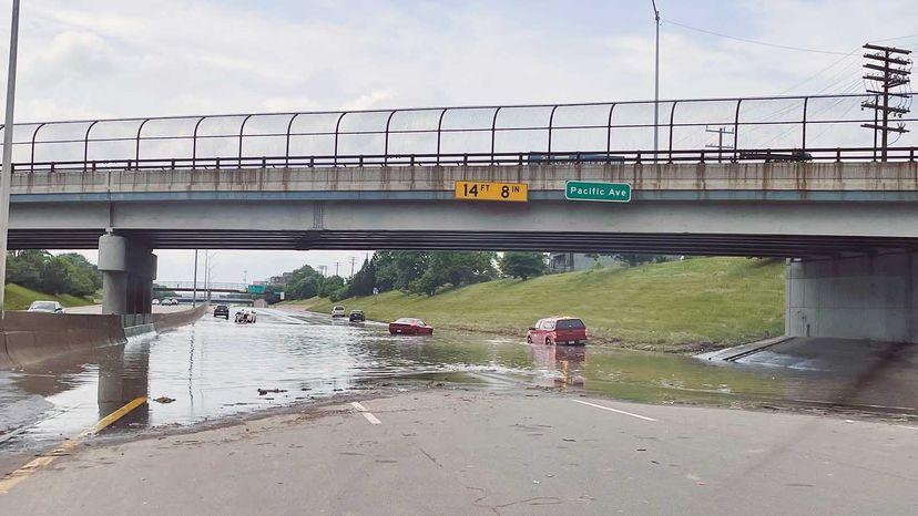 flooding in Detroit