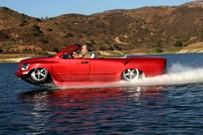The owner will need to register his or her WaterCar Python as a car and as a boat.