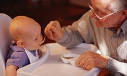 Calling the grandparents in for some quality time with the grandkids can give you a short break to relax.