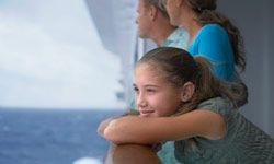Some cruise lines offer programming tailored specifically for teens and children, so you can take a break from one another and you kids can hang out with others their own age.