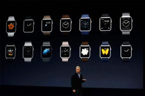 Tim Cook debuts the Apple Watch collection during an Apple special event on March 9, 2015 in San Francisco. What have wearables taught us, so far?