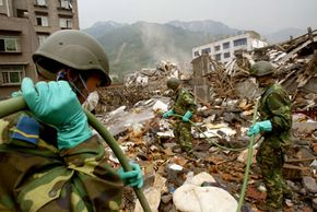 Weather alerts are used for tragedies like the May 12, 2008 earthquake in China.