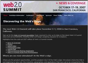 2007 Web 2.0 Summit Page