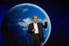Paul Otellini, CEO and President of Intel, discusses the increasing importance of mobile devices on the Web at the 2008 International Consumer Electronics Show.