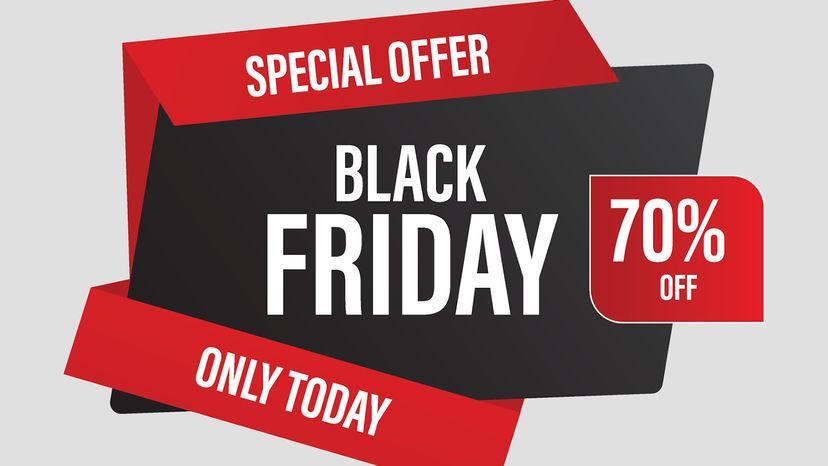 Black Friday super sale promotional web advertising