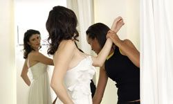 Take your undergarments along for all alterations appointments because they'll affect your fit.