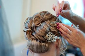When you have a complicated hairstyle planned, a wedding hair trial is definitely the way to go.